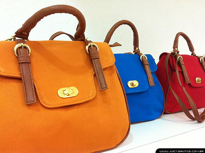 Bolsas coloridas perfeitas para presente pra namorada 325d43d9cfec2