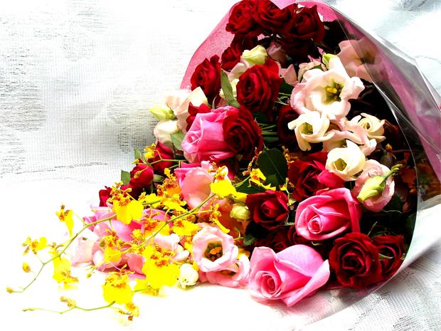 Buquê de Flores para Dia dos Namorados