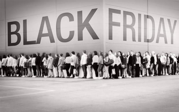 Descontos em produtos na Black Friday