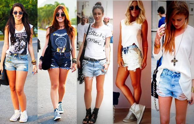 Shorts para usar no Rock in Rio 2013