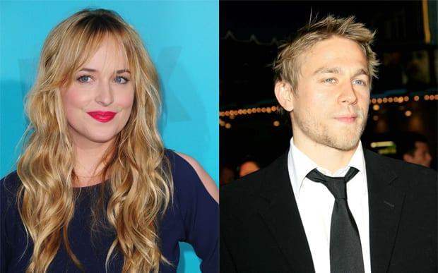 Dakota Johnson e Charlie Hunnam serão os protagonistas de Cinquenta Tons de Cinza