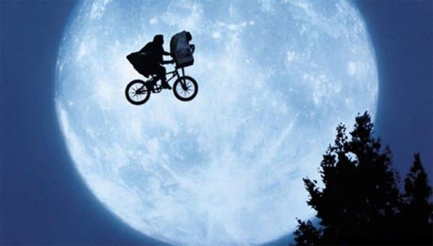 Cena do filme ET: Extraterrestre