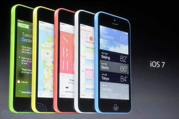 iPhone 5C - iPhones coloridos