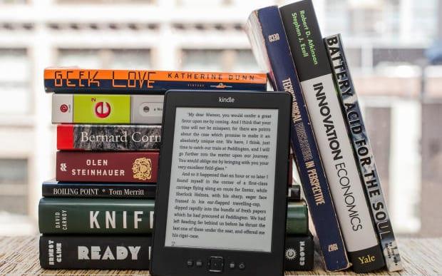 Livros com Kindle Paperwhite