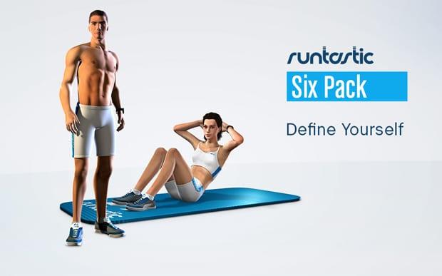 Aplicativo que ensina exercícios para definir abdômen: Runtastic Six Pack