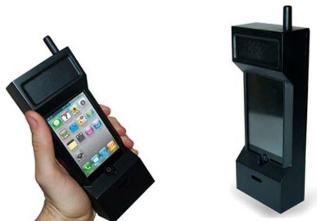 case de iphone engraçado: celular gigante