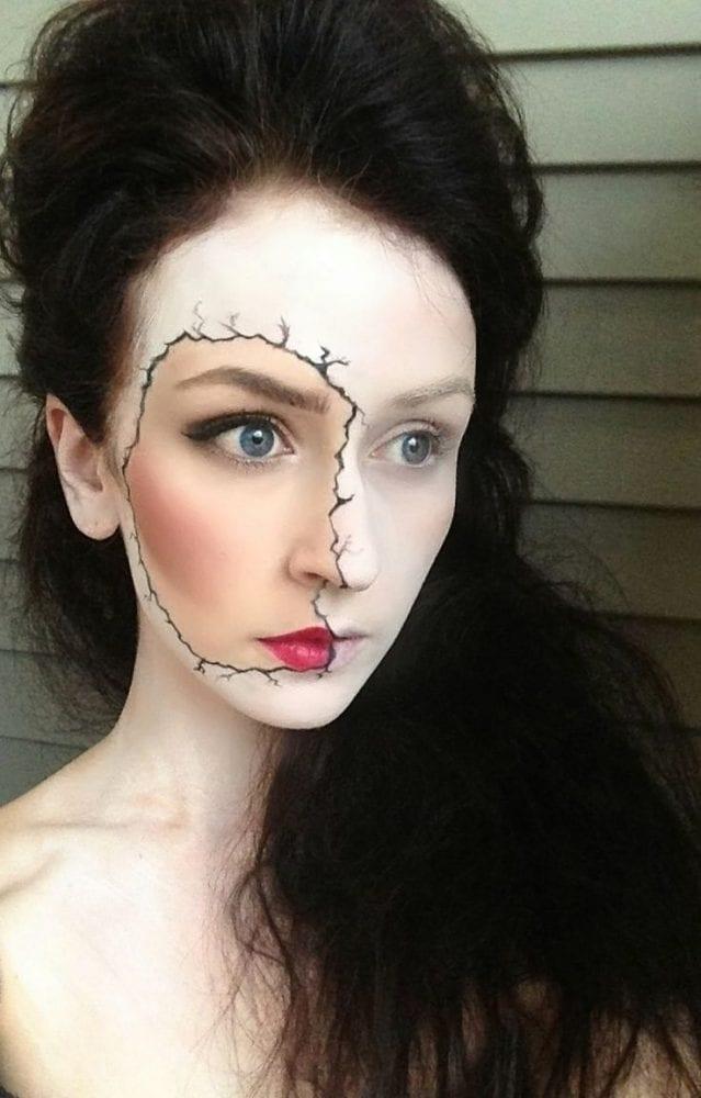 Populares Maquiagem para Halloween: Dicas de como fazer QV71