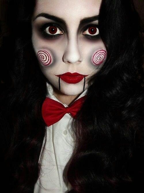 Maquiagem para halloween jogos mortais