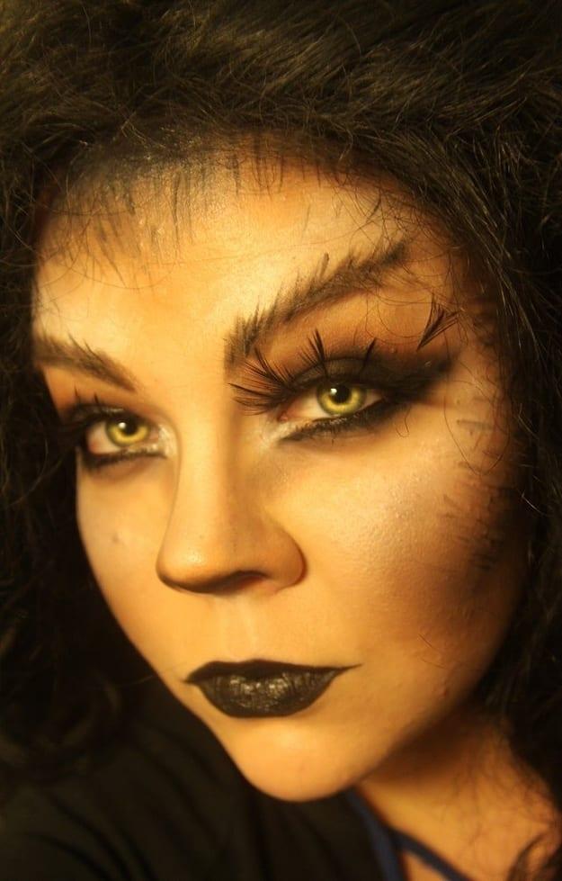 Maquiagem para Halloween: Lobisomen