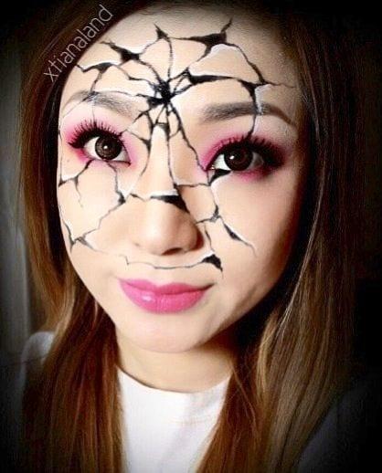 Maquiagem de Halloween passo a passo