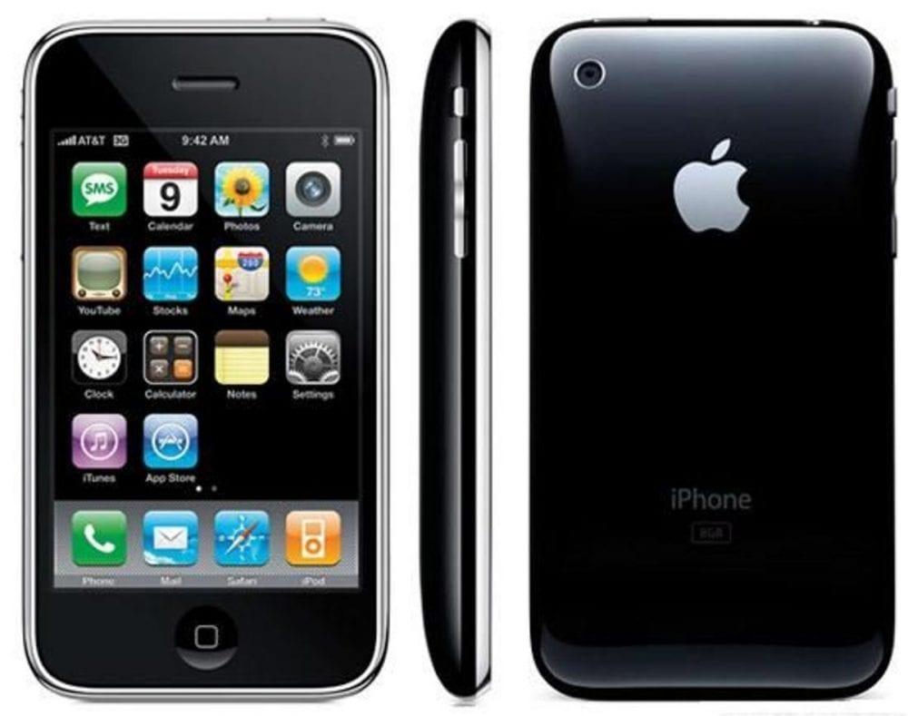 iPhone 3g, lançado em 2008