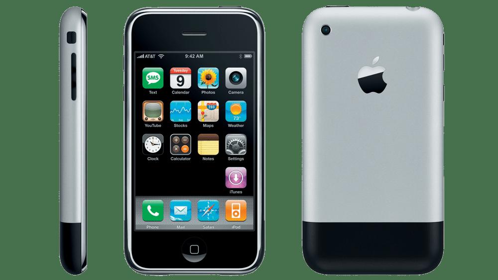 Primeiro iPhone lançado em 2007