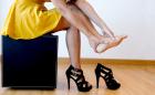Escolher sapato pra festa