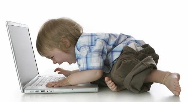 Crianças gostam de tecnologia