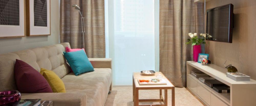 Dicas e estilos de decoraç u00e3o para salas pequenas Méliuz Blog -> Como Decorar Sala De Estar Pequena E Simples